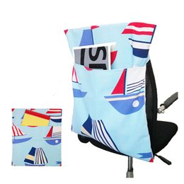 Wholesale Chair hanging bags baby dining chair bags large capacity office chair back storage school bags colorful custom sizes