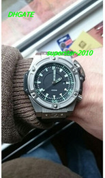 Wholesale NEW Top Quality Luxury Watches NOW luxury men automatic king power m mm watch mechanical sport dive mens watches rubber band