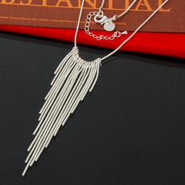 5 Pcs Factory direct wholesale 925 Sterling Silver Willow Leaf Necklace Fashion Silver Necklace Choker Necklace