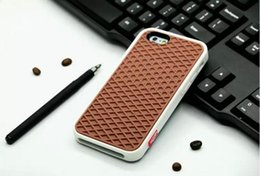Wholesale Fashion Soft Rubber Silicone Waffle Shoe Sole Cases Cover For Iphone s s plus case