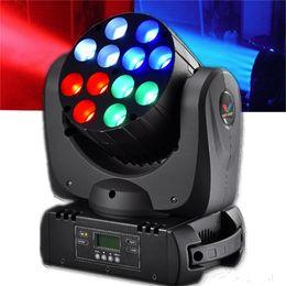Rgbw conduit faisceau mobile de la tête à vendre-Nouveau 12x10W CREE RGBW 4in1 mini LED faisceau se déplaçant lumière de lumière de faisceau de lumière dj club discothèque KTV party éclairage éclairage de scène
