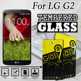 Tempered Glass Screen Protector For LG G2 D802 Mobile Phone Accessories with 10 in 1 packing