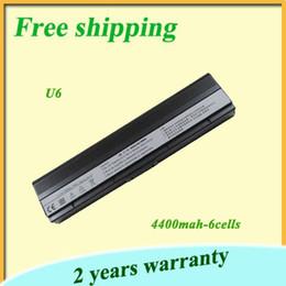 Wholesale High quality black v mah U6 U6E U6Ep Laptop battery For Asus NFD2B1000T NFD2B2000T NFD2B3000T