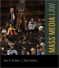 Wholesale 2016 fine MMass Media Law