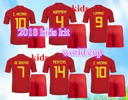 Rugby BOYS 2017 2018 Belgium Kids Jerseys LUKAKU HAZARD VERMAELEN Kompany DE BRUYNE 17 18 set Child Teens Jersey 10 or more free to send DHL