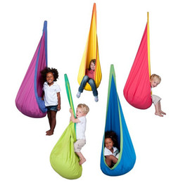 Wholesale Baby Toy Swing Hammock Chair Indoor Outdoor Hanging Toy Swing Chair Seat hangstol for reading tent relax Chair free ship