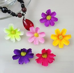 Wholesale Artificial Gerber A Daisy cm double petals silk flowers heads for DIY party wedding decoration HJIA200