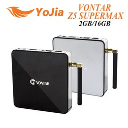 Wholesale 10pcs VONTAR Z5 SUPERMAX Amlogic S912 OctaCore Android TV Box GB GB G GHz Dual WIFI Gigabit LAN BT4