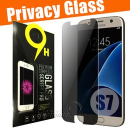 Wholesale For Iphone Privacy Tempered Glass For S7 iPhone s Note Screen Protector Samsung on Screen Guard Cover Shield for Samsung LG