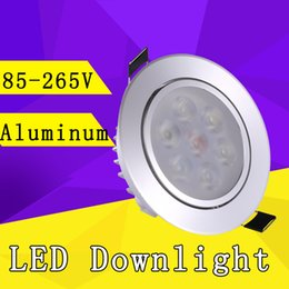 Wholesale LED Downlight W W W Epistar LED Recessed Cabinet Wall Spot Down light W Ceiling Lamp W W V V For Home Lighting