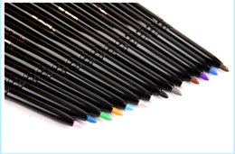 Wholesale Makeup manufacturers blasting automatic double headed eyeliner pen rotating pearl eye shadow pen