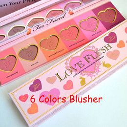 Wholesale Professional Makeup Colors Blusher Cosmetic Baby Love Flush Blush Powder Palette Long Lasting Blushes