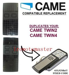 CAME TWIN2,TWIN4 Garage Door Remote Control Replacement