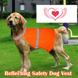 Pet luminous fluorescent Small and medium-sized summer clothes for dogs reflective safety vest Direct Selling
