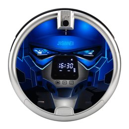 Wholesale JISIWEI S Automatic Vacuum Cleaner Robotic Smart Intelligent Floor Cleaner Cleaning Robot with p Camera WiFi APP Remote Control H16881