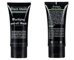 Wholesale Black Suction Mask Anti Aging ml SHILLS Deep Cleansing purifying peel off Black mud face mask Remove blackhead facial mask Shills Masks