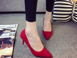 In the summer of Good product quality Korean high heels with a fine tip shallow mouth Seasons Women shoe all-match fashion shoes