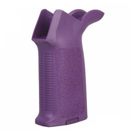 Wholesale BD MAP Style Grip Tactical Marked Version PTS AEG Foregrip For Hunting Wa AEG AR15 M4 Purple