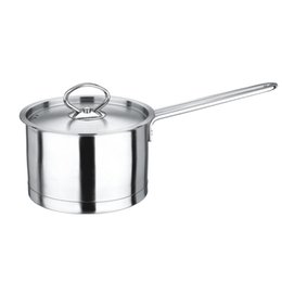 Wholesale Quality Stainless Steel Milk Pot Stock Soup Multi Pot with Cover Three layer Bottom Out Flames and Indution Suitable