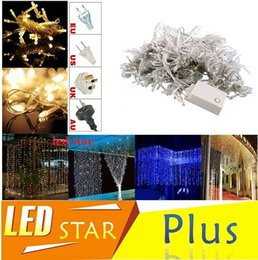 Curtain String Lights Garden Lamps New Year Christmas Icicle LED Lights Xmas Wedding Party Decorations 10*8m 10*5m 10*3m 8*4m 6*3m Led Light