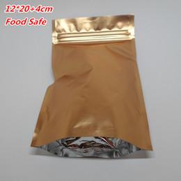 Bolsa de papel de aluminio bolsa de oro bolsas de papel de aluminio de embalaje de todos los tamaños caliente resellable, auto se levantan bolsa de cremallera, cierre de cerradura envoltura bolsas empacador de caramelo desde bolsas de embalaje reutilizables proveedores