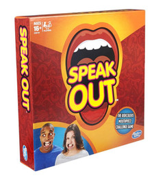 Wholesale Speak Out Game Best Selling Hottest Family Catch Phrase Games Board Game Interesting Party Mother Daughter Game