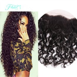 Beauty Hair Brazilian Deep Curly Lace Frontal Closure Hand-Tied 13x4 Full And Thick Ear To Ear Deep Curly Lace Frontal