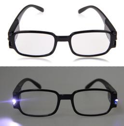 1,0-4,0 multi Force Hommes Femmes Lunettes de lecture à double Led Eyeglass Spectacle dioptrique Magnifier Lumière UP 11-est à partir de à double lampe de lecture fabricateur