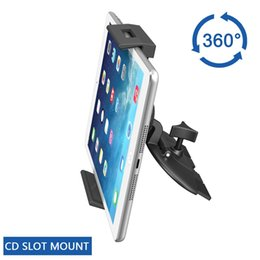 Wholesale Tablet CD Slot Car Mount Holder Stand for iPad Air iPad Mini Samsung Tab Kindle Fire GPS Black