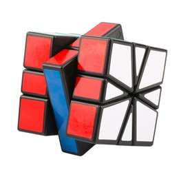 Wholesale-New Speed Super Square One SQ-1 Plastic Magic Cube Twist Puzzle Worldwide sale