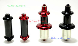 Wholesale Taiwan Powerway R36 road bike hubs bicycle wheel hubs carbon hub straight pull Enduro sealed bearing super light