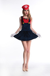 New super Mario game Mario taste uniform role-playing Halloween clothing foreign trade stage
