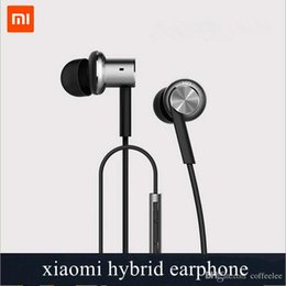 Wholesale Quality Product Xiaomi Hybrid Earphone Wire Microphone Call Xiaomi Ring Iron Earhone Mobile Phone and Tablet Universal