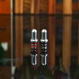 Acheter en ligne Conseils pour e cig-Gouttes d'égouttage pour E Cigs Vaporisateur en acier inoxydable Goutte à goutte Buse Accessoires Buse de cigarettes électroniques Nipple Mimi Wide Bore Drip Tips
