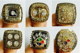 Wholesale 1974 K gold plated P Steelers Super Bowl championship rings Sz g pc