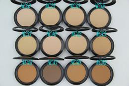 1PCs Brand Makeup Studio Fix Powder cake Plus Foundation, compact foundat, face powder + puffs , 15g free shipping