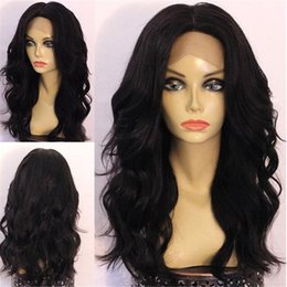 Black African Amercian Water Wave Malaysian Human Hair Full Lace Wig Unprocessed 8A Top Quality Wet And Wavy Lace Front Wig Natural Hairline