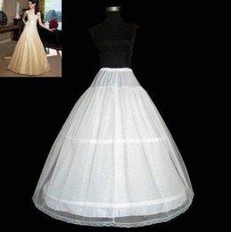 Wholesale New White Hoop layers Adult Petticoat Underskirt underdress slip wedding dress No Risk Shopping