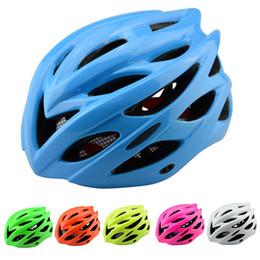 2017 Bicycle Helmet With LED Warning Lights Cycling Helmet Ultralight PC+EPS Road Mountain MTB Bike Helmet Cycling Helmets