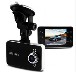 Wholesale K6000 Car DVR Camera Mega Novatek Dash Cam Auto Video Recorder Full HD P Dual LED Night Vision Video Registrator Car logger