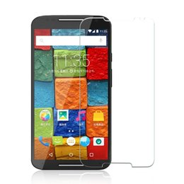 Wholesale Professional Tempered Glass Screen Protector for Moto E X Play X Style Droid Ultra X3 X E2 Droid Turbo DROID RAZR M