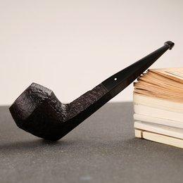 Authentic Royaume-Uni Dunhill ronce importé tuyau cigarette support tabac shell seau ronce tuyau Bruyere tabac DHL gratuit à partir de le soutien à l'importation fabricateur