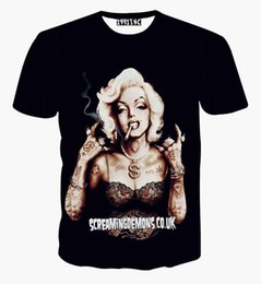Newest fashion sexy men women's 3D roses t shirts graphic print floral Marilyn Monroe tee shirts summer casual tops clothes