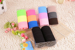Wholesale Hair Rubber Bands Factory High Elastic Ring Hair Explosion Hair Headdress Fashion Jewelry Pearl Towel Ring Candy Color