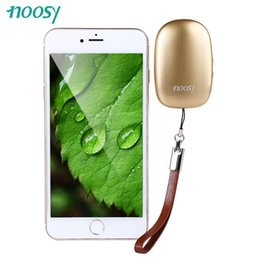 Wholesale-Golden NOOSY NS08 App Phone Portable Bluetooth 4.0 Dual SIM Adapter Camera Shutter Function for iPhone with High Capacity