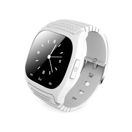 Hot Selling Bluetooth Smart Watch Luxury Wristwatch M26 Smartwatch with Dial SMS Remind Pedometer for Android Samsung Phone