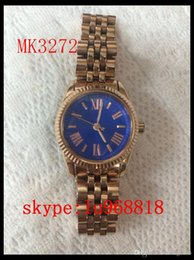 Wholesale TOP QUALITY BEST PRICE New Mini Lexington Stainless Steel WATCH Women s MK3229 MK3271 MK3272 MK3273 MK3228