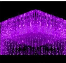 Best Sales LED Curtain Lights String 10m * 1m 448 leds Backdrop Christmas Party Wedding Holiday Decoration Xmas Fairy Lights AC110V-250V