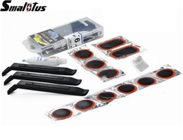Wholesale Brand New Bike Bicycle Flat Tire Repair Kit Tool Set Kit Patch Rubber Portable Fetal Best Quality