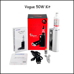 Current Stock!!! Genuine Amigo Vogue 50W Full Kit with 2ml Mini Riptide Sub Ohm Tank Vogue 50W Box Mod Leather Case Free